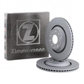 100.3309.20 ZIMMERMANN COAT Z Externally Vented, Coated, High-carbon Ø: 310mm, Num. of holes: 5, Brake Disc Thickness: 22mm Brake Disc 100.3309.20 cheap