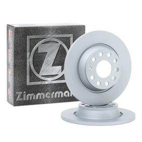 Zimmermann 100.3318.52 discos de freno 2 piezas para Audi