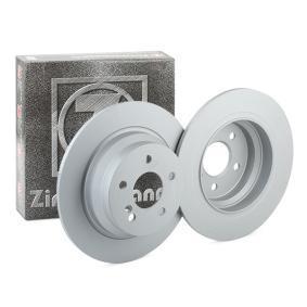 400.3621.20 ZIMMERMANN COAT Z Voll, beschichtet, hochgekohlt Ø: 300mm, Lochanzahl: 5, Bremsscheibendicke: 10mm Bremsscheibe 400.3621.20 günstig kaufen