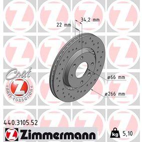 Bremsscheibe 440.3105.52 Niedrige Preise - Jetzt kaufen!