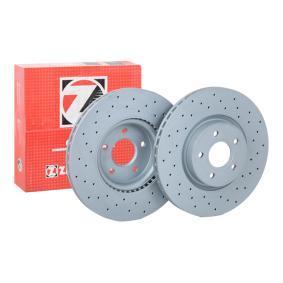 Volvo C70 2 Zimmermann Sport-Bremsscheiben Bremsbeläge vorne Ford Focus 2 DA