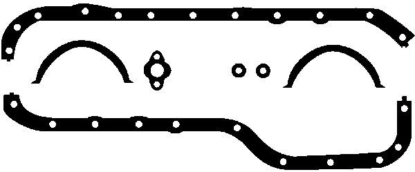 Dichtung Ölwanne GLASER E30653-00