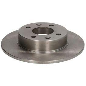 C3R001ABE ABE Vorderachse, Voll, mit Schrauben Ø: 238mm, Lochanzahl: 4, Bremsscheibendicke: 8mm Bremsscheibe C3R001ABE günstig kaufen