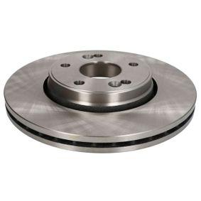 C3R027ABE ABE Vorderachse, belüftet, hochgekohlt, mit Schrauben Ø: 280mm, Lochanzahl: 5, Bremsscheibendicke: 24mm Bremsscheibe C3R027ABE günstig kaufen