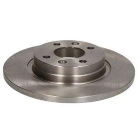C3R034ABE ABE Vorderachse, Voll Ø: 259mm, Lochanzahl: 4, Bremsscheibendicke: 12mm Bremsscheibe C3R034ABE günstig kaufen