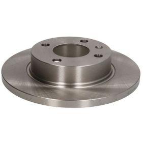C3S003ABE ABE Vorderachse, Voll, mit Schrauben Ø: 236mm, Lochanzahl: 4, Bremsscheibendicke: 12,7mm Bremsscheibe C3S003ABE günstig kaufen