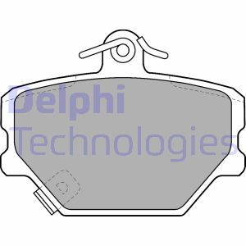 Original SMART Bremsbelagsatz Scheibenbremse LP1465