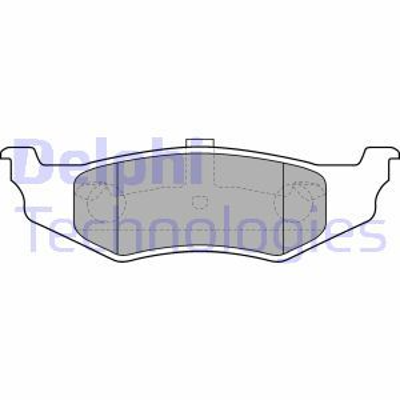 CHRYSLER NEON 1999 Bremsbelagsatz - Original DELPHI LP1515 Höhe 2: 40mm, Höhe: 40mm, Dicke/Stärke 1: 18mm, Dicke/Stärke 2: 18mm