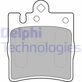 D8767753 DELPHI Höhe: 78mm, Dicke/Stärke 1: 15mm Bremsbelagsatz, Scheibenbremse LP1618 günstig kaufen