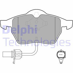 Brake Pad Set, disc brake DELPHI LP1672 - find, compare the prices and save!