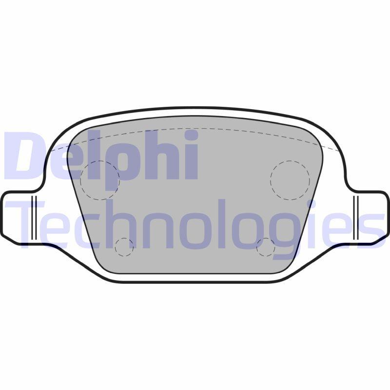 D14928692 DELPHI nicht für Verschleißwarnanzeiger vorbereitet, ohne integrierten Verschleißsensor Höhe 2: 44mm, Höhe: 44mm, Dicke/Stärke 1: 16mm, Dicke/Stärke 2: 16mm Bremsbelagsatz, Scheibenbremse LP1685 günstig kaufen