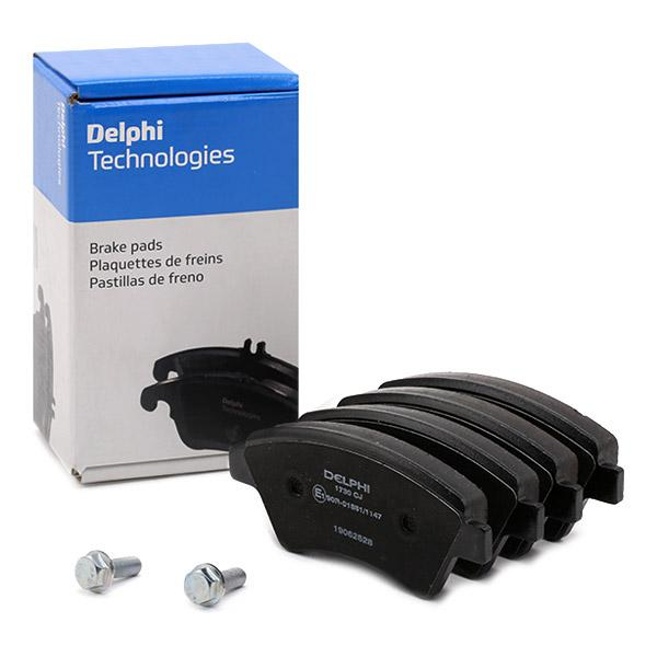 GENUINE DELPHI Plaquettes Frein Avant Kit d/'accessoires-LX0135