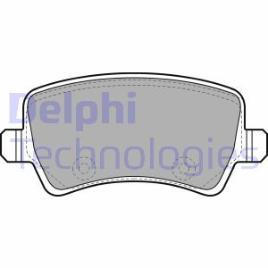 LP2008 Disk Pads DELPHI - Experience and discount prices