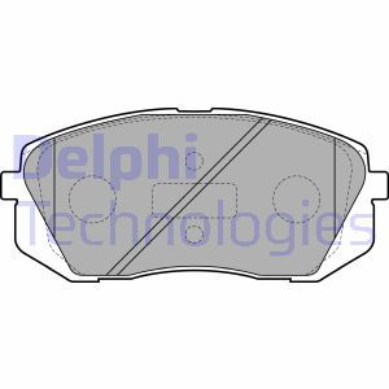 LP2050 Bremsbelagsatz DELPHI - Markenprodukte billig