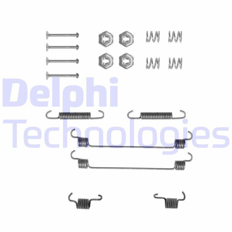 DELPHI Zubehörsatz, Bremsbacken LY1112