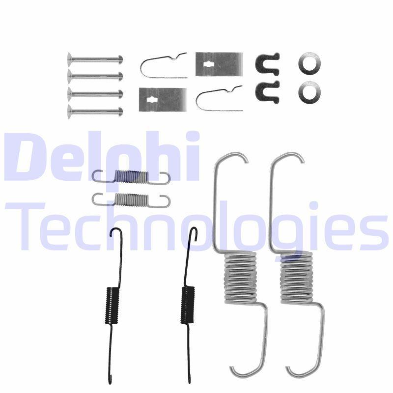 Originali Kit accessori, ganasce freno LY1218 Honda