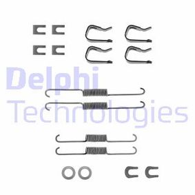 DELPHI Accessory Kit Brake Shoes Rear Axle LY1241