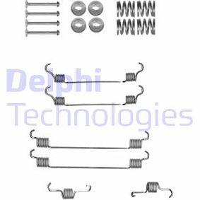 LY1318 Accessory Kit brake shoes Rear