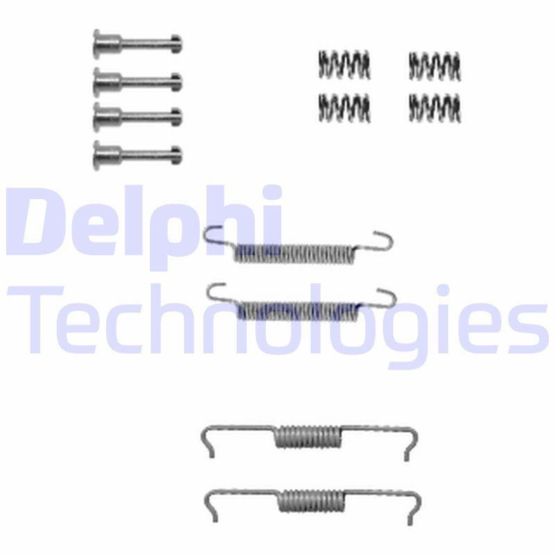 DELPHI: Original Zubehörsatz, Bremsbacken LY1330 ()