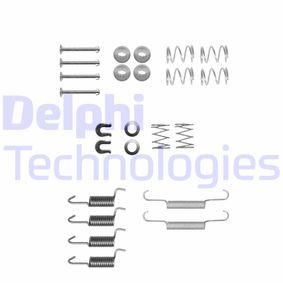 Pērc un aizvieto Piederumu komplekts, Stāvbremzes mehānisma bremžu loks DELPHI LY1348