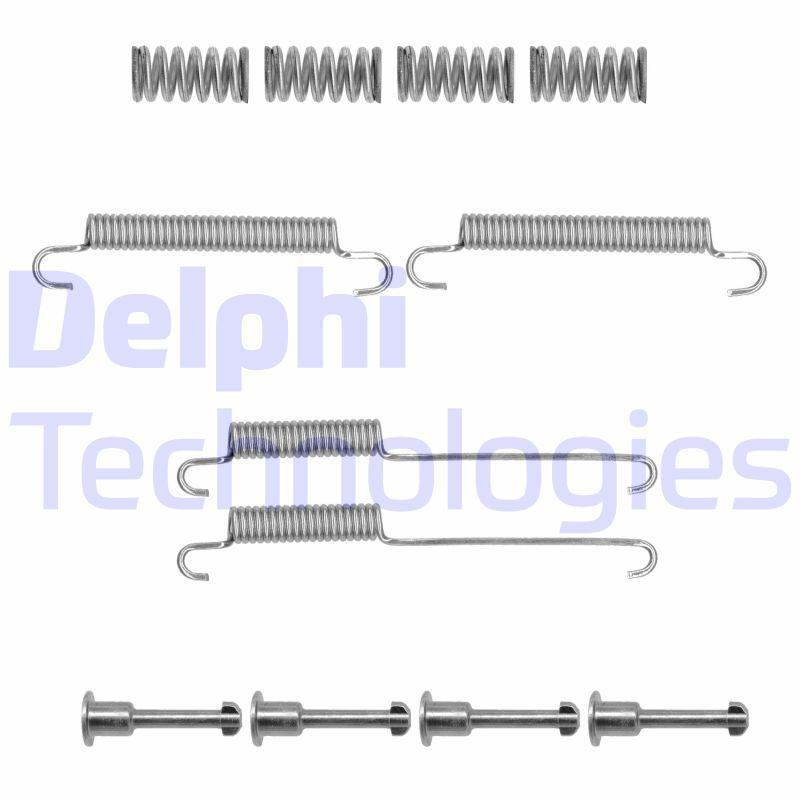 Genuine Delphi Rear Parking Brake Shoe Accessory Kit LY1360