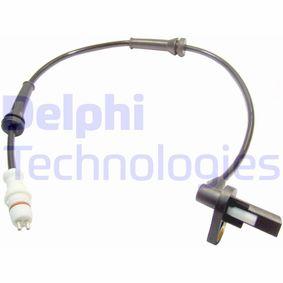 DELPHI ABS Sensor Raddrehzahl SS20113 hinten rechts für RENAULT LOGAN 1 TWINGO 2
