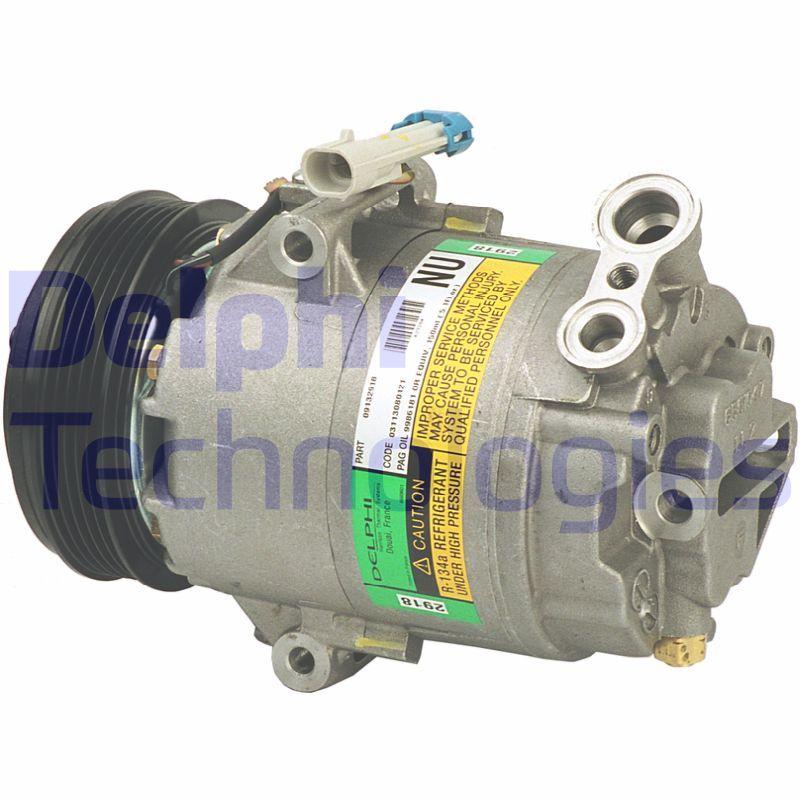 DELPHI: Original Kompressor Klimaanlage TSP0155132 (Riemenscheiben-Ø: 110mm)