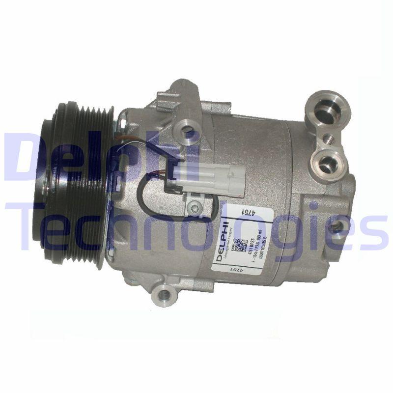 DELPHI: Original Kompressor Klimaanlage TSP0155459 (Riemenscheiben-Ø: 105mm)