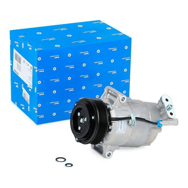 Klimakompressor OPEL Zafira B Van (A05) 2013 - DELPHI TSP0155802 (Riemenscheiben-Ø: 105mm)