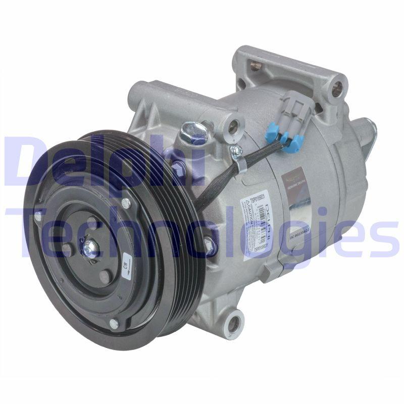 TSP0155831 Kompressor, Klimaanlage DELPHI TSP0155831 - Große Auswahl - stark reduziert