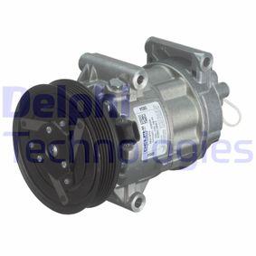 TSP0155831 DELPHI PAG 46, mit PAG-Kompressoröl Riemenscheiben-Ø: 125mm Kompressor, Klimaanlage TSP0155831 günstig kaufen