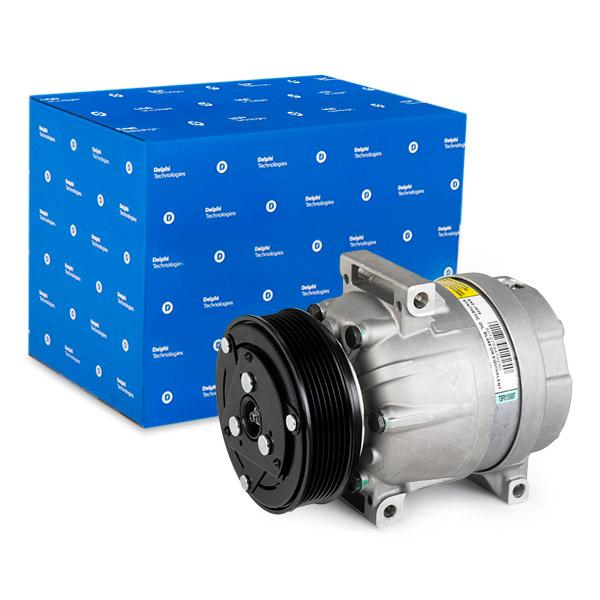 DELPHI: Original Klimakompressor TSP0155897 (Riemenscheiben-Ø: 119mm)