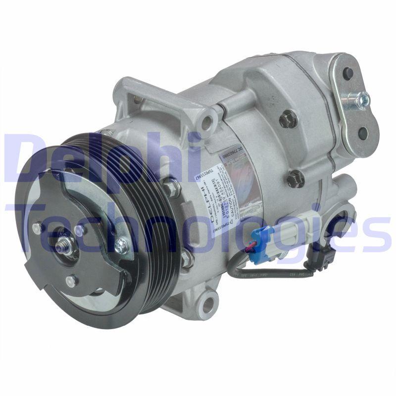 TSP0155967 Klimakompressor DELPHI Test