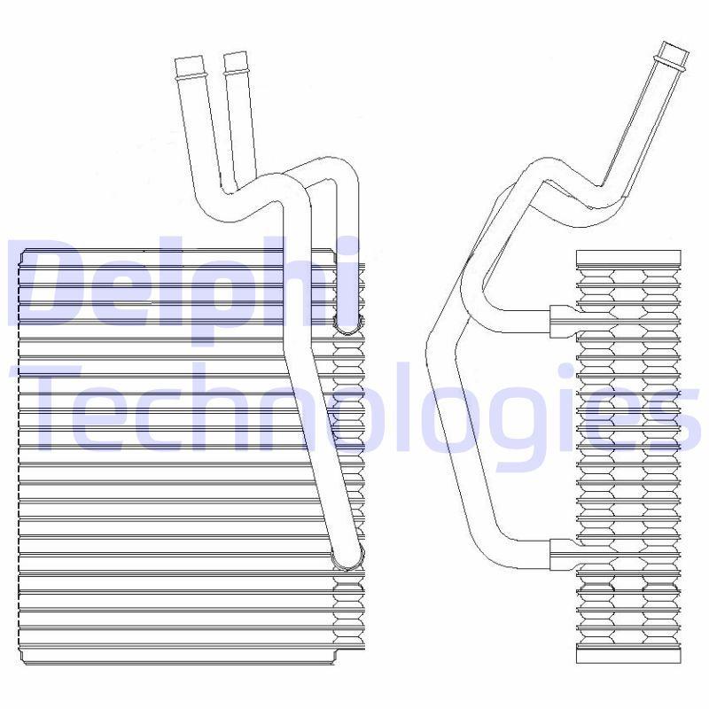 RENAULT 9 Verdampfer Klimaanlage - Original DELPHI TSP0525204