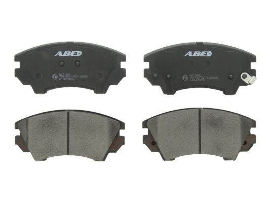 Bremsbelagsatz Scheibenbremse ABE C1X039ABE
