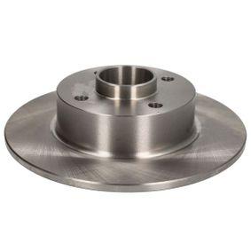 C4R018ABE ABE Hinterachse, Voll, lackiert Ø: 240mm, Lochanzahl: 4, Bremsscheibendicke: 8mm Bremsscheibe C4R018ABE günstig kaufen