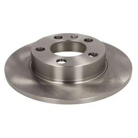 Kupi C4W000ABE ABE Poln, z vijaki Ø: 232mm, Platisce: 5-luknja, Debelina zavornega diska: 9mm Zavorni kolut C4W000ABE poceni