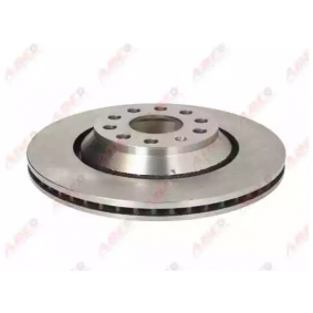 C4W014ABE ABE Rear Axle, Vented Ø: 310mm, Num. of holes: 9, Brake Disc Thickness: 22mm Brake Disc C4W014ABE cheap