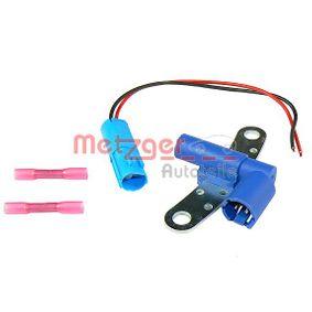 0902225 METZGER mit Anschlussteilen Pol-Anzahl: 2-polig Impulsgeber, Kurbelwelle 0902225 günstig kaufen