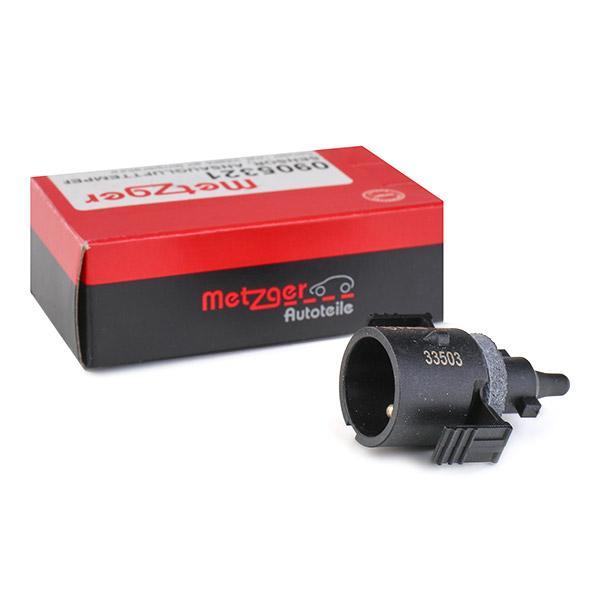 METZGER: Original Sensor, Ansauglufttemperatur 0905321 ()