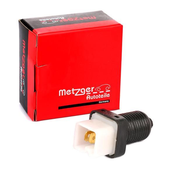 METZGER: Original Bremslichtschalter 0911004 (Pol-Anzahl: 2-polig)