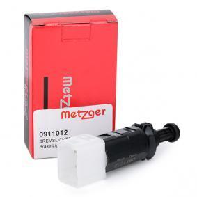 0911012 METZGER Pol-Anzahl: 4-polig Bremslichtschalter 0911012 günstig kaufen