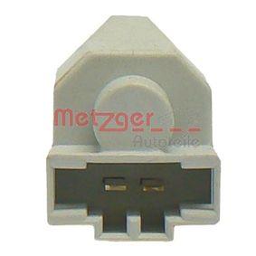0911045 Schalter, Kupplungsbetätigung (GRA) METZGER 0911045 - Große Auswahl - stark reduziert