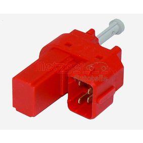 0911046 METZGER Schalter, Kupplungsbetätigung (GRA) 0911046 günstig kaufen