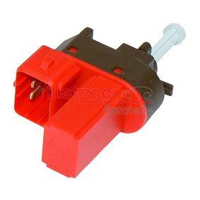 0911047 METZGER Schalter, Kupplungsbetätigung (GRA) 0911047 günstig kaufen