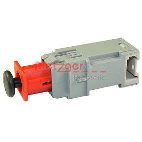 0911095 Schalter, Kupplungsbetätigung (GRA) METZGER in Original Qualität