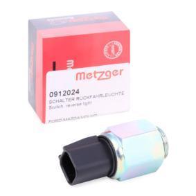 0912024 METZGER Schaltgetriebe 5 Gang Pol-Anzahl: 2-polig Schalter, Rückfahrleuchte 0912024 günstig