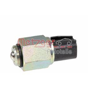 0912024 Schalter, Rückfahrleuchte METZGER in Original Qualität