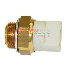 Compre e substitua Interruptor de temperatura, ventilador do radiador METZGER 0915210