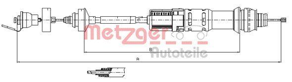 Original BMW Kupplungsseilzug 11.2198